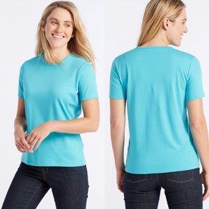 L.L. Bean BLACK Pima Cotton T-shirt